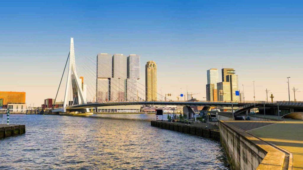 Erasmusbrug Rotterdam - Mediator Rotterdam