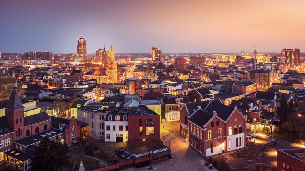 Enschede by night - mediator Enschede